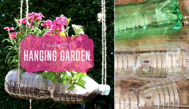 Make It! Hanging Garden to Reuse Plastic Featured Image