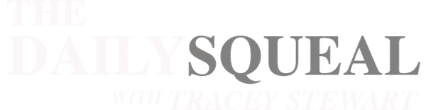 The Daily Squeal with Tracey Stewart Logo