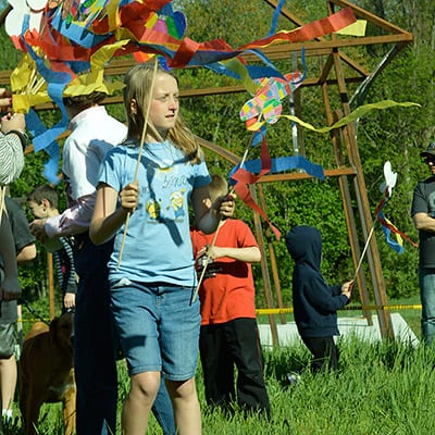 Butterfly Release at the Catherine Violet Hubbard Sanctuary