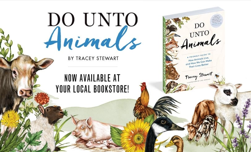 Do Unto Animals By Tracey Stewart Now Available at Local Bookstores