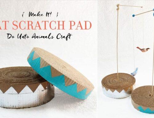 Make It! Cat Scratch Pad
