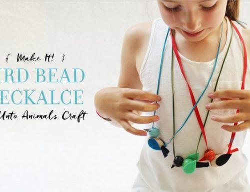 The Great Backyard Bird Count: Beaded Bird Necklaces