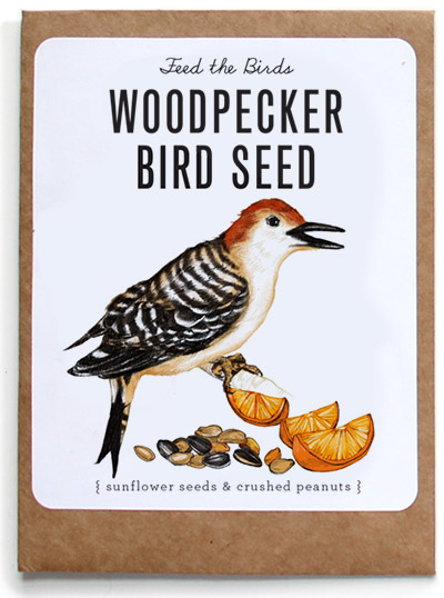 Photo of Woodpecker Bird Seed Packet