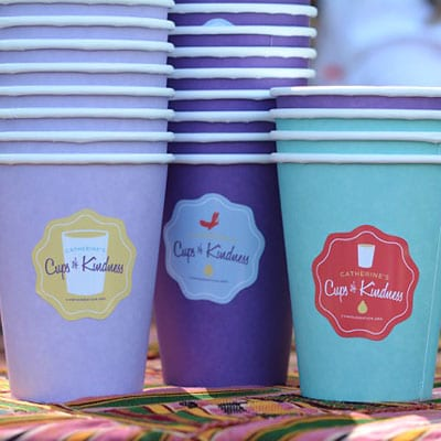 Cups of Kindness Close Up