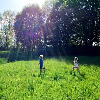 Children Activities at the Catherine Violet Hubbard Sanctuary. Photo courtesy of Jenny Hubbard.