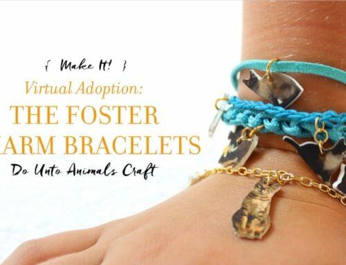 Make It! Virtual Adoption: The Foster Charm Bracelets