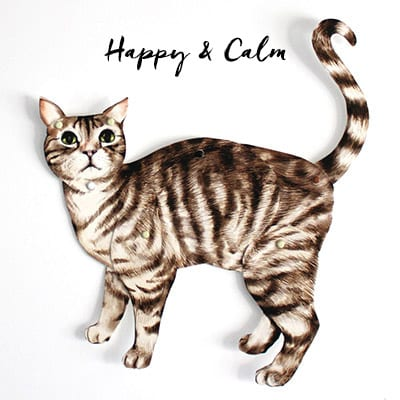 Bradded Cat Craft in Happy & Calm Pose