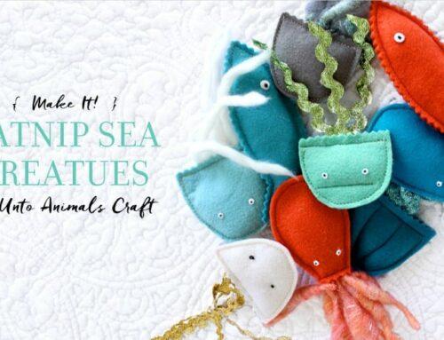 Make It! Catnip Sea Creatures