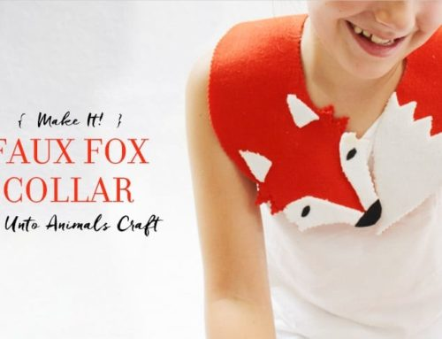Make It! Faux Fox Collar