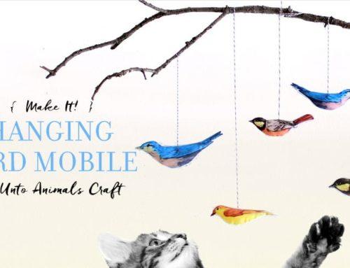 Make It! Hanging Bird Mobile