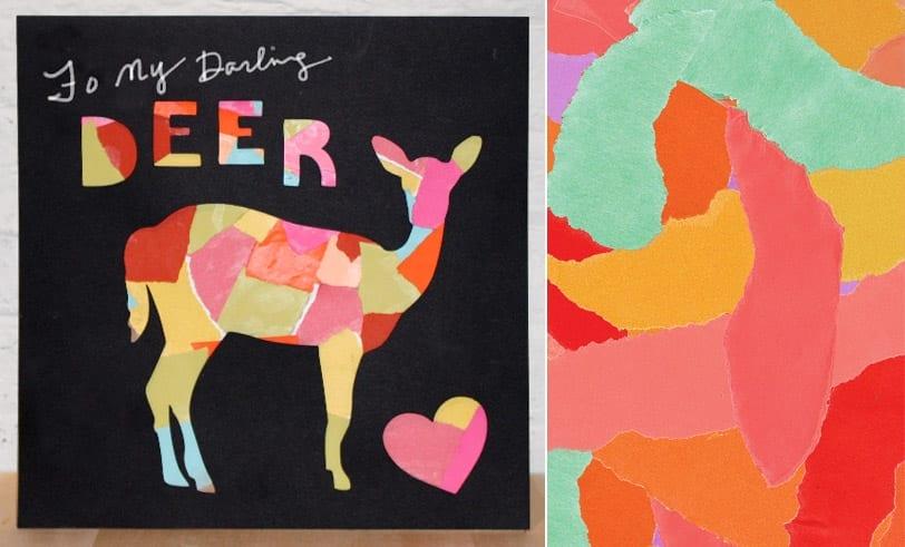 Darling Deer Featured Image: Finished Deer Collage