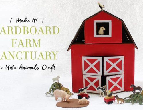 Make It! Cardboard Farm Sanctuary