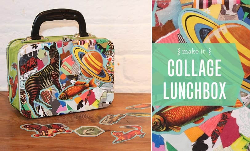 Make It Collage Lunchbox Featured Image Lunchbox Decorated With Assortment of Fun Pictures