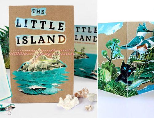 Make It! The Little Island Accordion Book