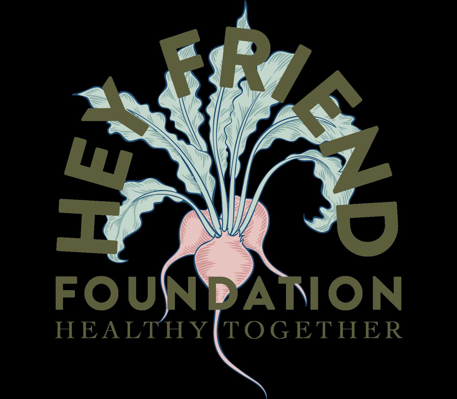 Hey Friend Foundation Logo